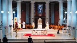 Archbishop of Dublin Dermot Farrell being installed at St Mary's Pro Cathedral, Dublin