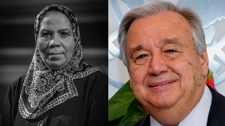 Latifa ibn Ziaten and Antonio Guterres, premiati del Zayed Award for Human Fraternity 2021