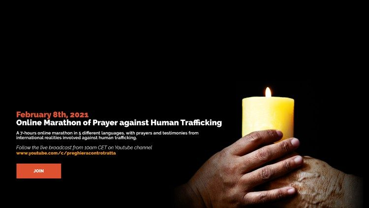 8 February: World Day of Prayer and Reflection Against Trafficking in Persons