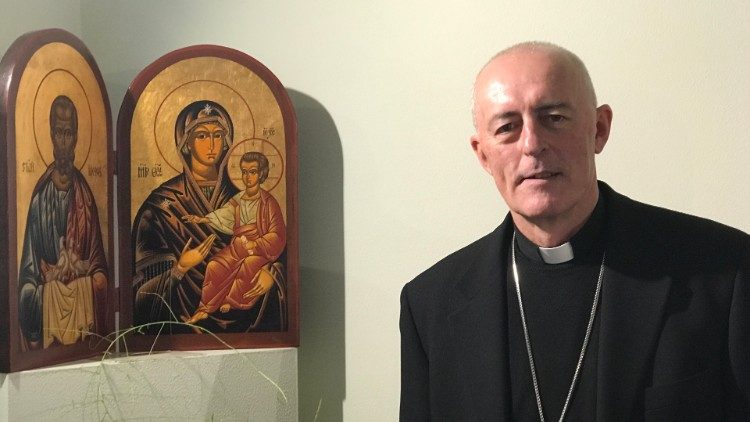 Archbishop Giorgio Lingua, Apostolic Nuncio to Croatia