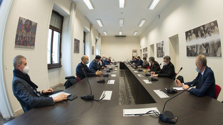 Directors' meeting in the Dicastery's headquarters