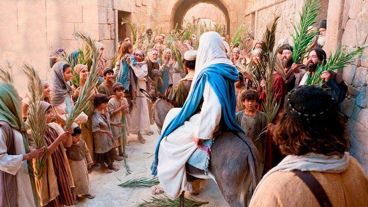 2021.03.27 Domenica delle Palme - Ingresso di Gesù a Gerusalemme - YouTube
