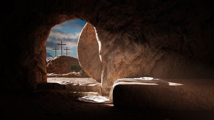 2021.03.30 Risurrezione Cristo, sepolcro vuoto, Pasqua