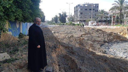 "Gaza, Padre Romanelli: ""Es urgente una tregua antes de que empiece la guerra"""