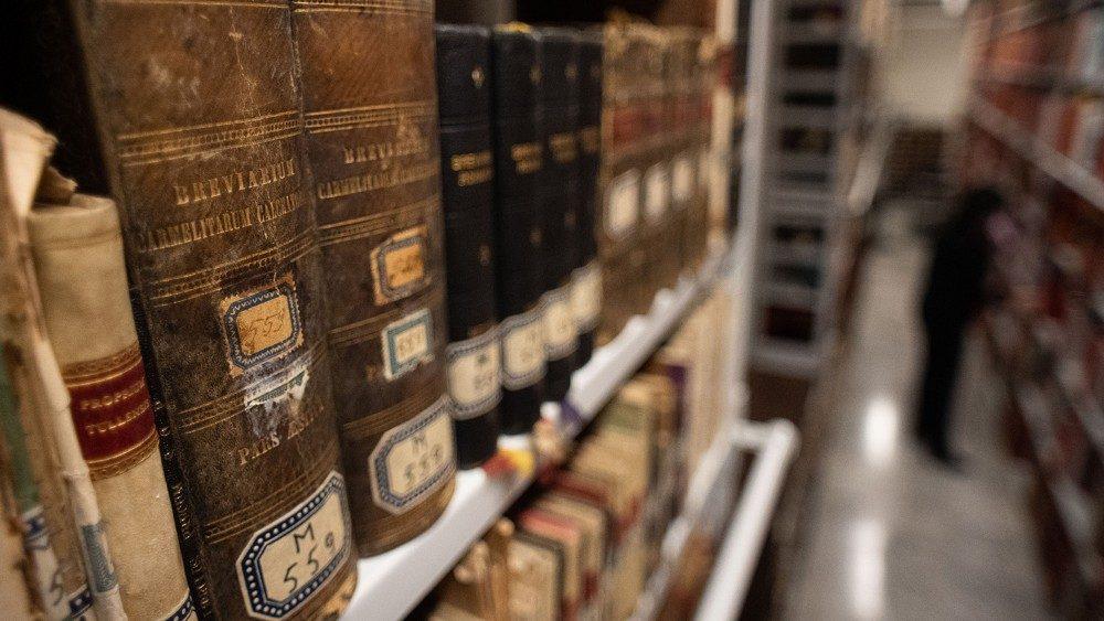 Les archives de la Congrégation pour les Causes des Saints.