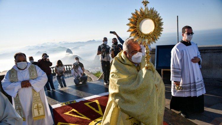 Corpus Christi no Cristo Redentor