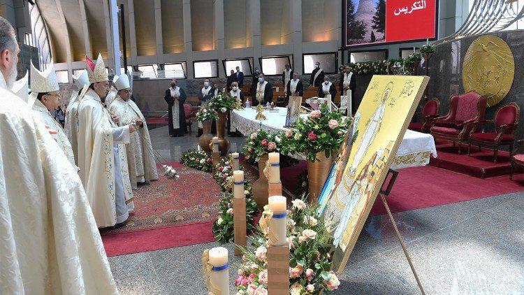 Messet et acte de consécration du Liban au Coeur immaculé de Marie (6 juin 2021)