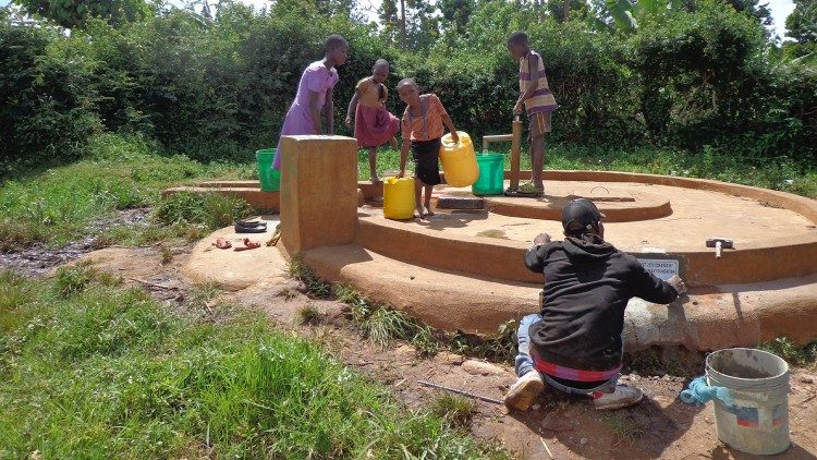 A new water well, another lifeline for the local people