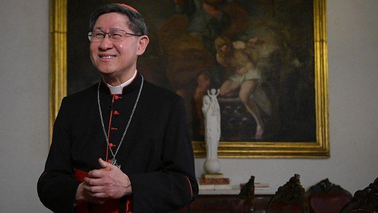 Le cardinal Luis Antonio Tagle, préfet de la Congrégation pour l'évangélisation des peuples