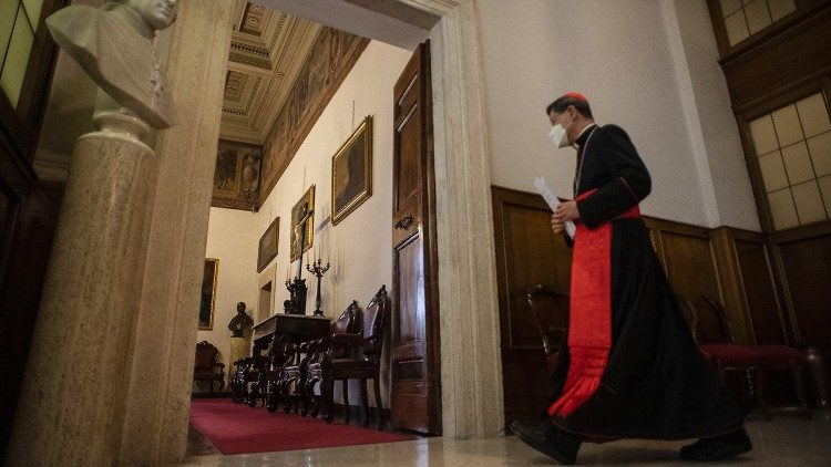 Carinal Tagle inside the Dicastery