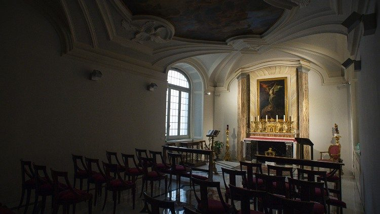 The Congregation for the Evangelization of Peoples- the Chapel