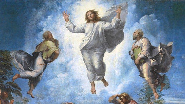 Rafael Sânzio (1483-1520), A Transfiguração, têmpera sobre madeira, 1516-20, Museus Vaticanos, Pinacoteca ©Musei Vaticani