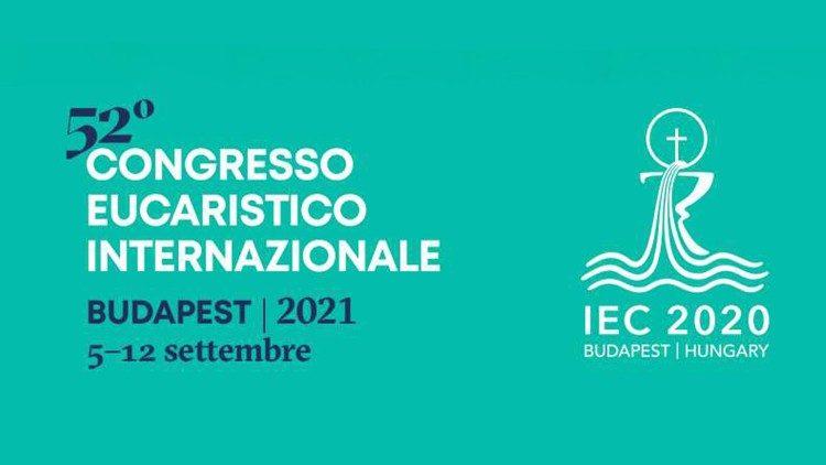 Il logo del Congresso eucaristico internazionale di Budapest