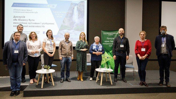 Фото: Деякі учасники Екуменічного Соціального Тижня 2020 року