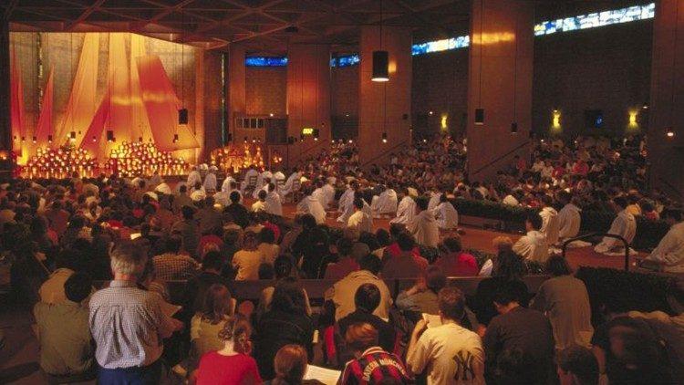 Oración en la Iglesia de la Reconciliación
