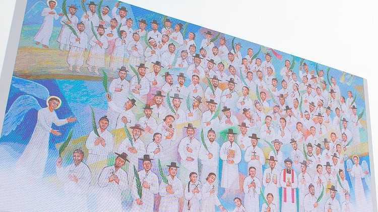 Beatificación de los mártires coreanos