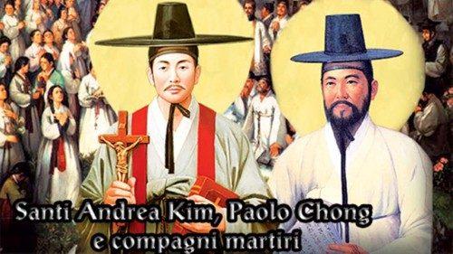 André Kim Taegon e os mártires coreanos, testemunhas da fé e da identidade de um povo