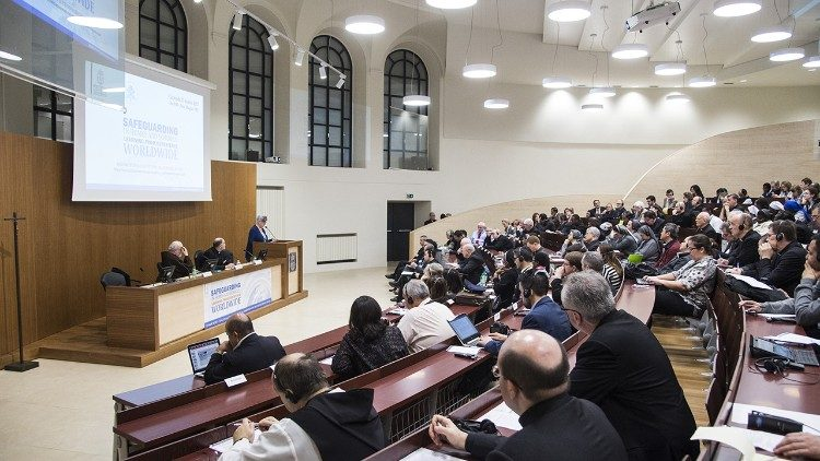 A Safeguarding conference organized by the PCPM at the Pontifical Gregorian University's Centre for Child Protection, Rome