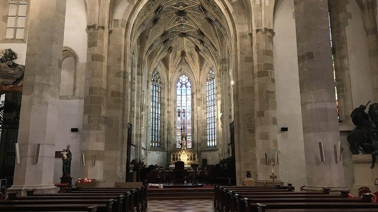 The Cathedral of St Martin,  Bratislava.