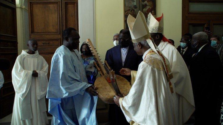 La Kora sénégalaise en mémoire du Cardinal Thiandoum
