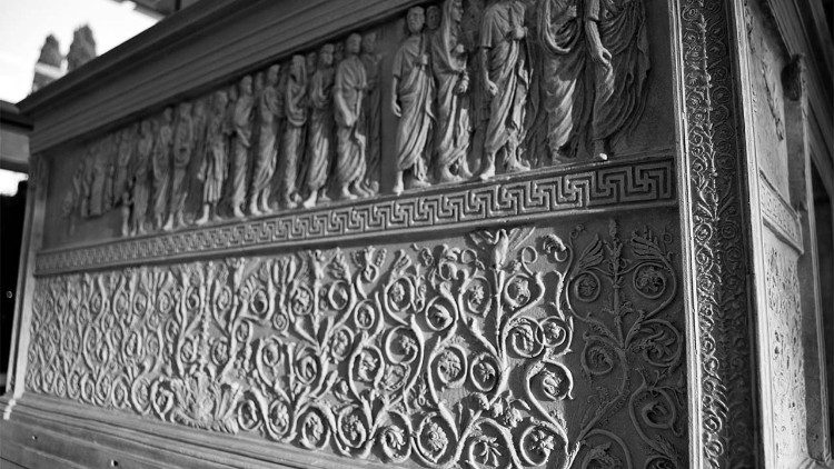 Ara Pacis Augustae, I sec. a.C., Museo dell'Ara Pacis, Roma