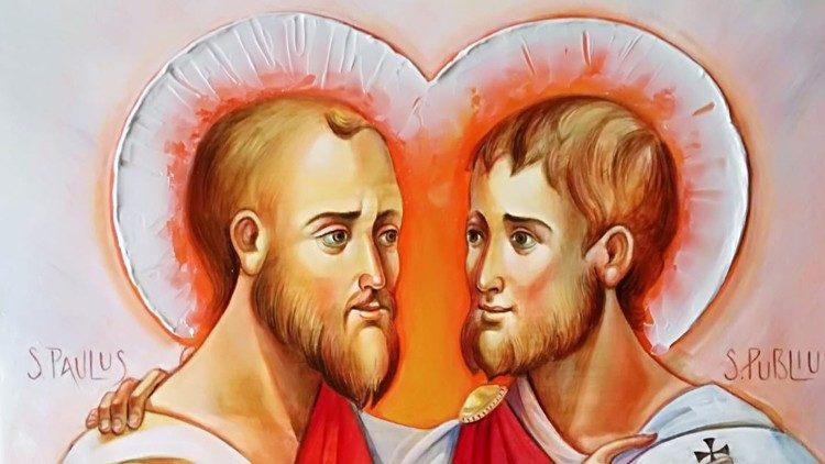 El ícono donado al Santo Padre