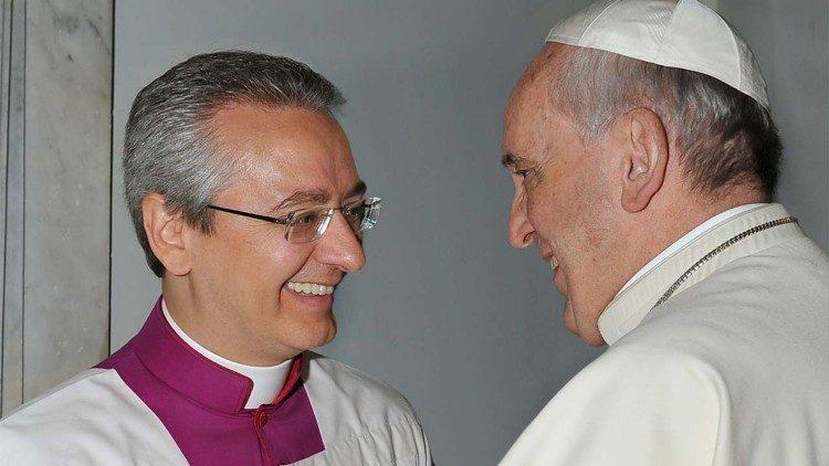 ĐTC Phanxicô bổ nhiệm Đức ông Diego Ravelli làm Chưởng nghi phụng vụ
