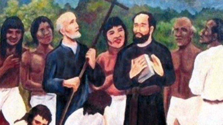 отці Педро Ортіс де Сарате та Хуан Антоніо Солінас