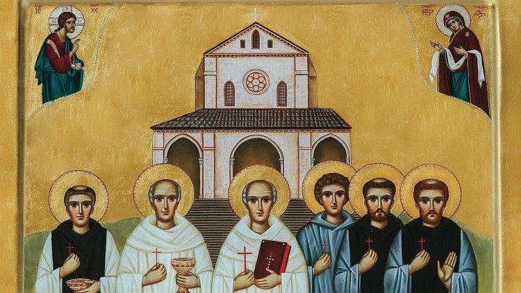 Icône des martyrs de Casamari