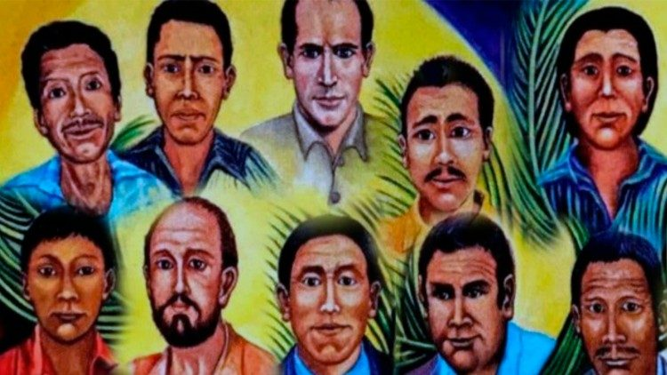 The martyrs of Quiché