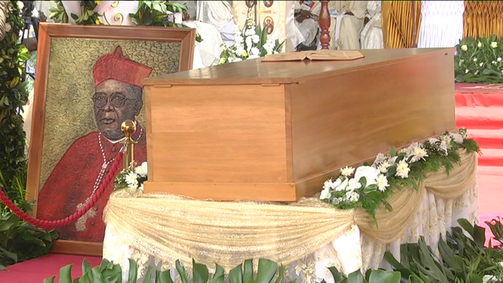 Funérailles du Cardinal Christian Tumi/Cameroun, le 20/04/2021