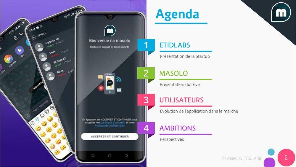 Masolo, une application de messagerie instantanée made in RDC
