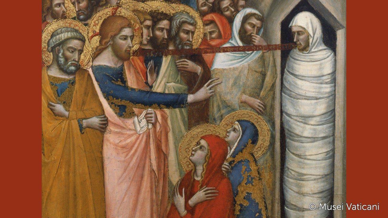 Resultado de imagem para imagem da ressurreição de lázaro - vatican news