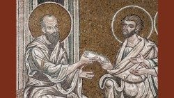 St. Paul consigns his Letters, the Cathedral of Monreale