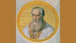 B. Inocencio V, papa, Basílica de San Pablo Extramuros