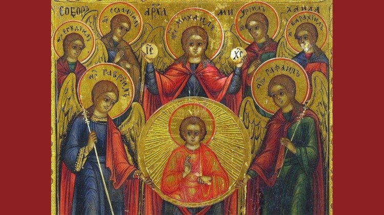 Tổng lãnh thiên thần Micae , Gabriel và Raphael