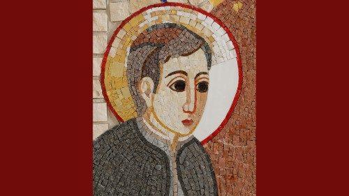 El joven San Estanislao de Kostka