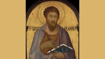 S. Bartolomeo, apóstol, Simone Martini