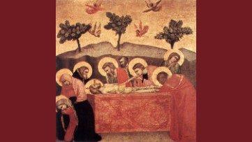 SS. José de Arimateia e Nicodemos, discípulos do Senhor, Giotto