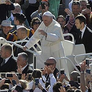 audiëntie bij de Paus